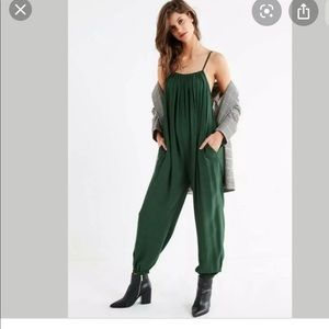 Urban outfitters slouchy leg jumpsuit